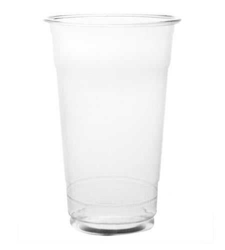 BarConic 9oz clear plastic drink glasses - CASE OF 20 / 50 PACKS