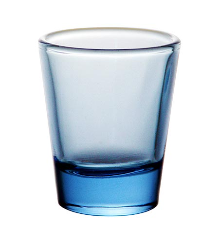 BarConic 1.5 oz Light Blue Shot Glass - CASE OF 72