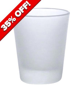BarConic 1.75 oz Frosted Shot Glass - CASE OF 72