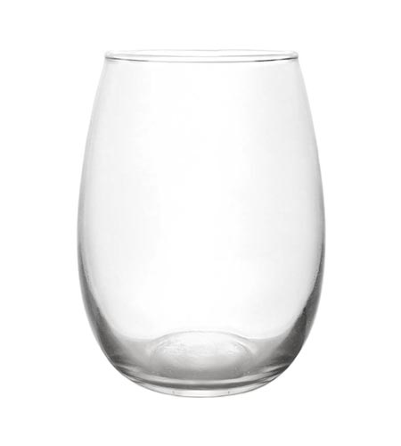 BarConic Stemless Wine Glass - 12 oz - CASE OF 12