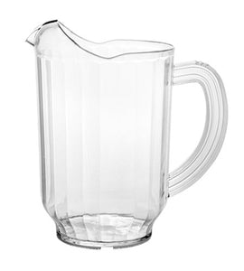 3 Way Plastic Pitcher 60 oz. - CASE OF 6