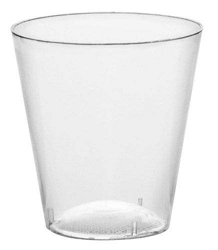 BarConic 2oz Plastic Shot Cups - CASE OF 40 / 50 PACKS