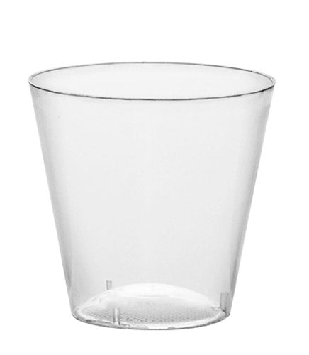 BarConic 1oz Plastic Shot Cups - CASE OF 40 / 50 PACKS