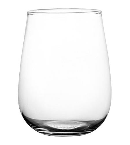 BarConic Stemless Wine Glass 17 oz - CASE OF 24