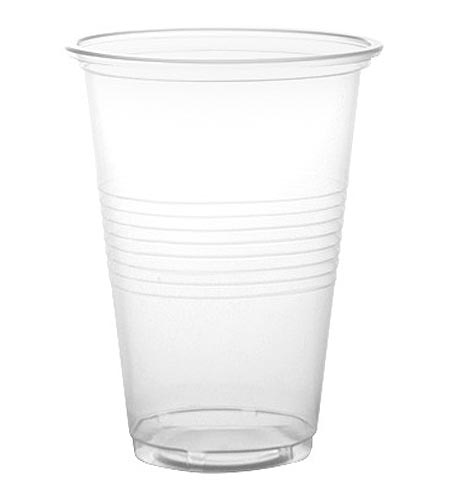 BarConic 16oz Clear Plastic Drink Glasses-PP - CASE OF 20 / 50 PACKS