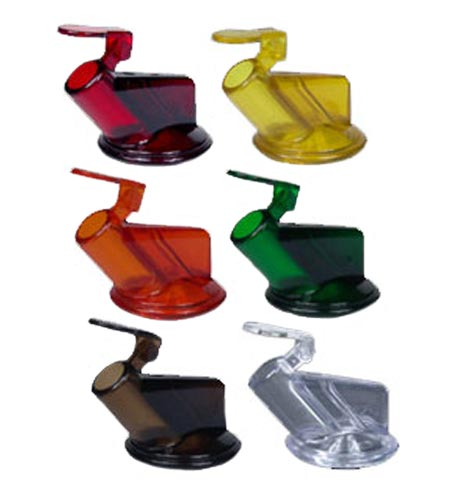 Juice Master Replacement Juice Spouts 1 Dozen Assorted Colors - CASE OF 12