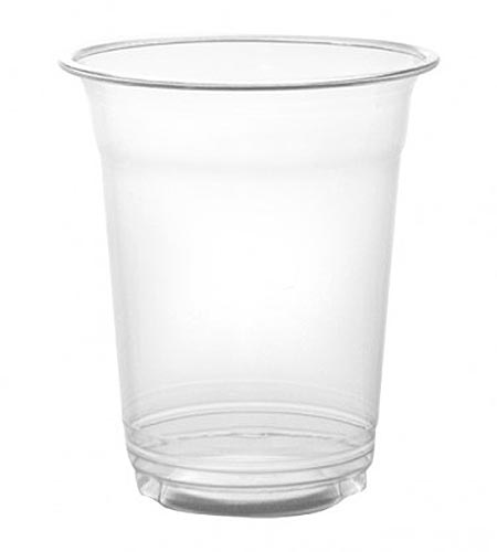 BarConic 16oz Clear Plastic Drink Glasses - CASE OF 20 / 50 PACKS