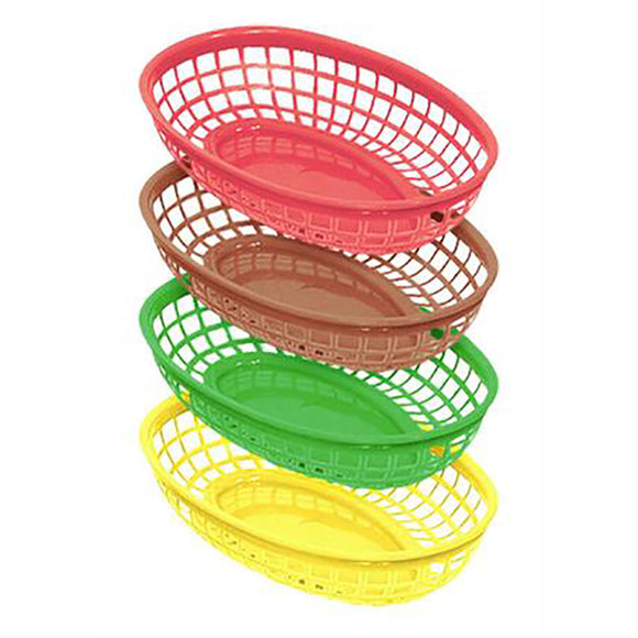 Oval Basket 9 1/2'' x 6'' - CASE OF 36