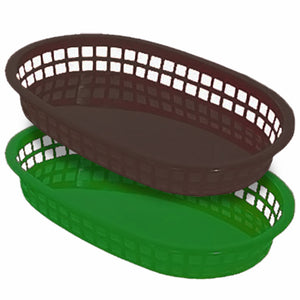Oval Basket 10 1/2'' x 7'' - CASE OF 36