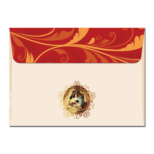 C913 Holy Night Nativity Christmas Card