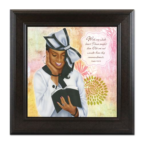 ARTF08 Virtuous Woman White (Psalm 11910)