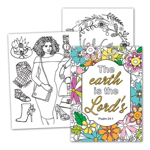 CC01 COLORING NOTE CARDS