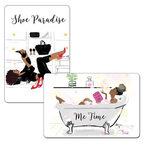 M104 Shoe Paradise/Me Time Magnet Set