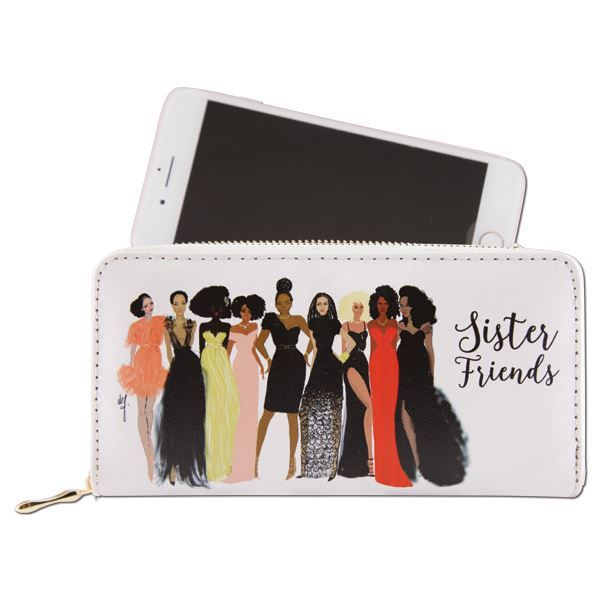 WL04 Sister Friends Wallet