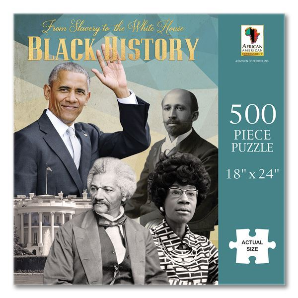 PUZ17 From Slavery to the White House Black History Puzzle