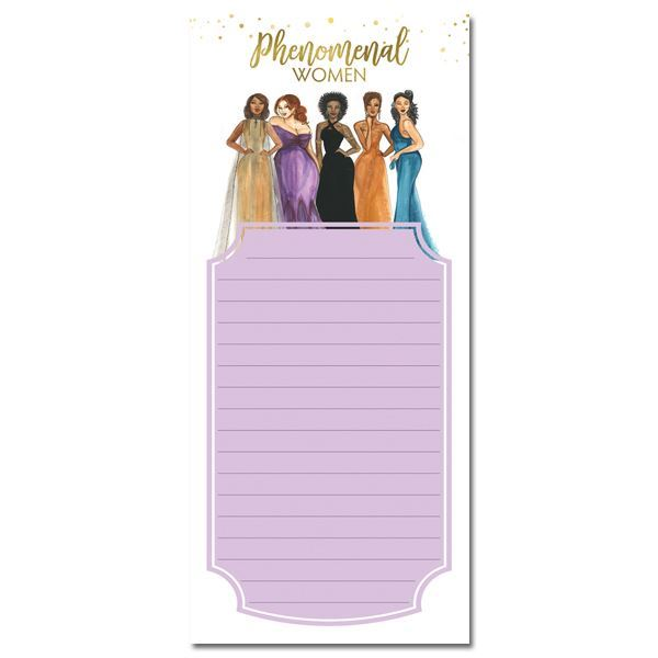 MNP123 Phenomenal Women Magnetic Notepad