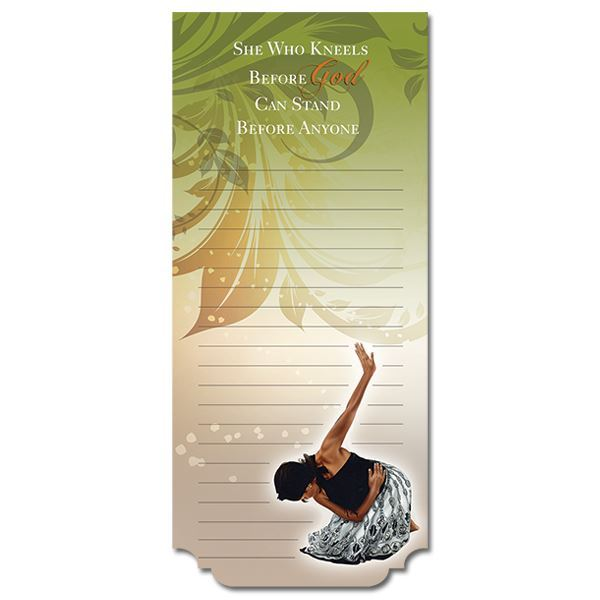 MNP102 She Who Kneels Magnetic Notepad
