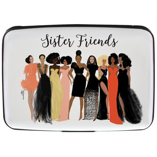 CHC02 Sister Friends Card Holder