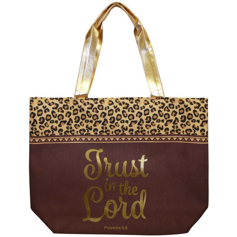 CHB03 Trust in the Lord Canvas Handbag