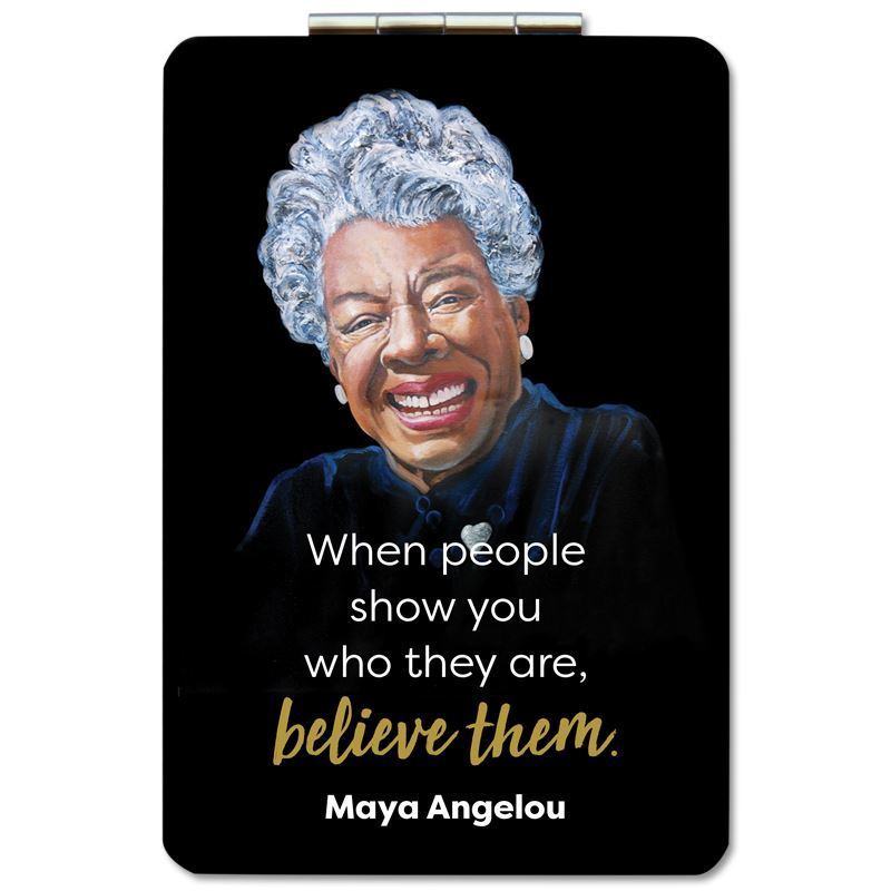 PM13 Maya Angelou Believe Compact Mirror
