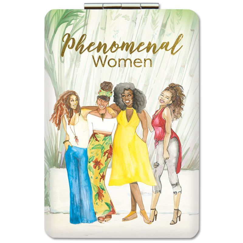 PM15 Phenomenal Women (Version 2) Compact Mirror