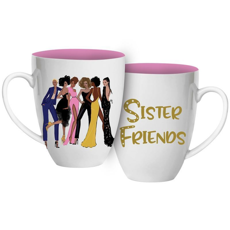 CHMUG48 Sister Friends 2 Coffee Mug