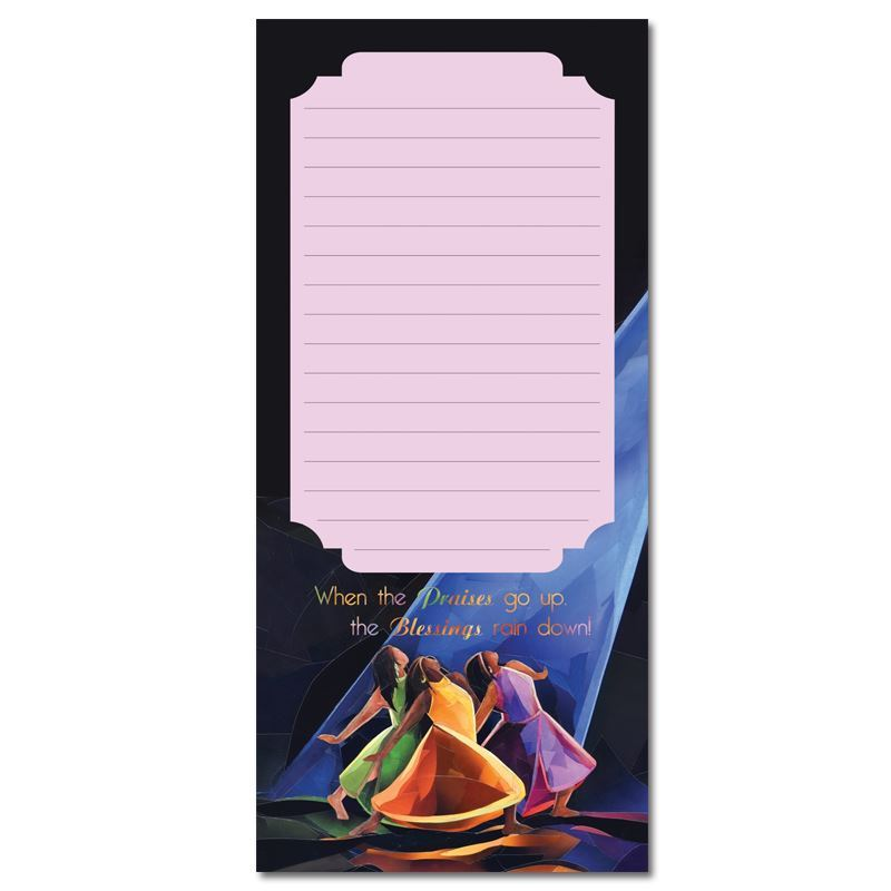 MNP103 Praises Go Up Magnetic Notepad