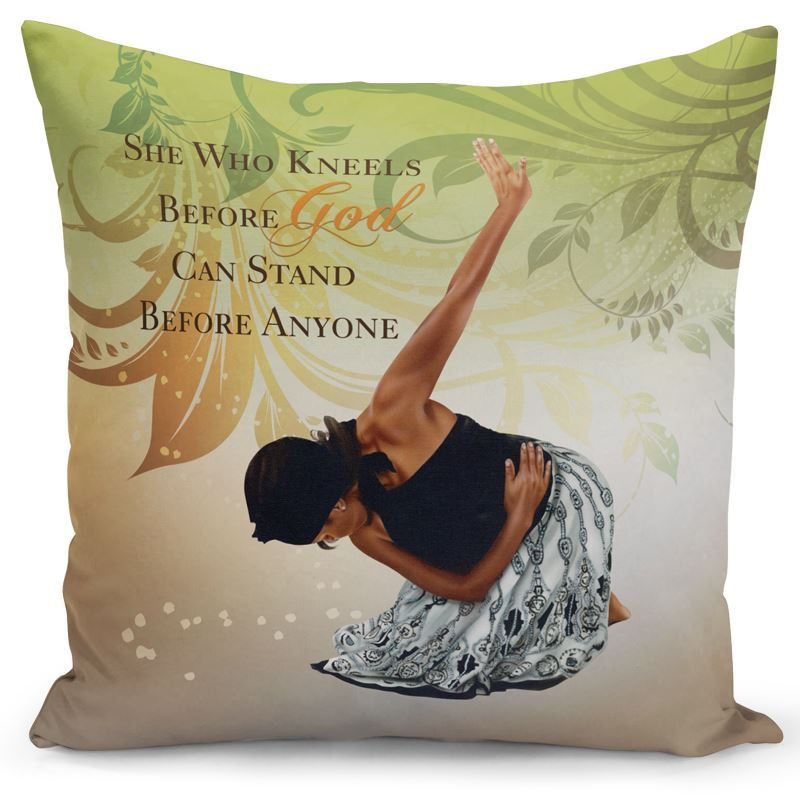 PC03 She Who Kneels Pillow Cover
