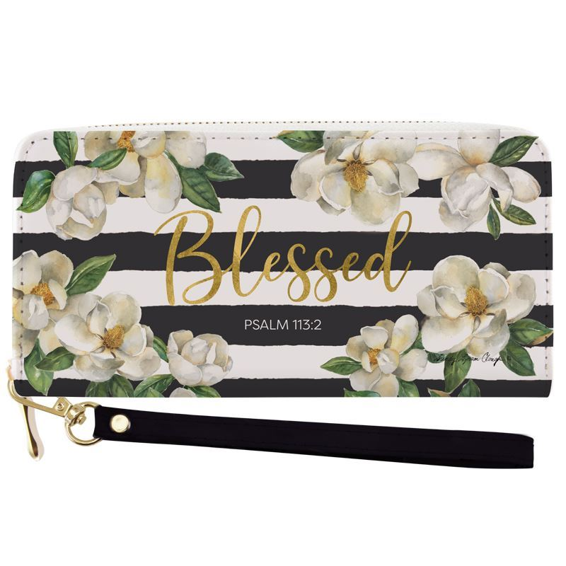 WL17 Blessed Magnolia Wallet