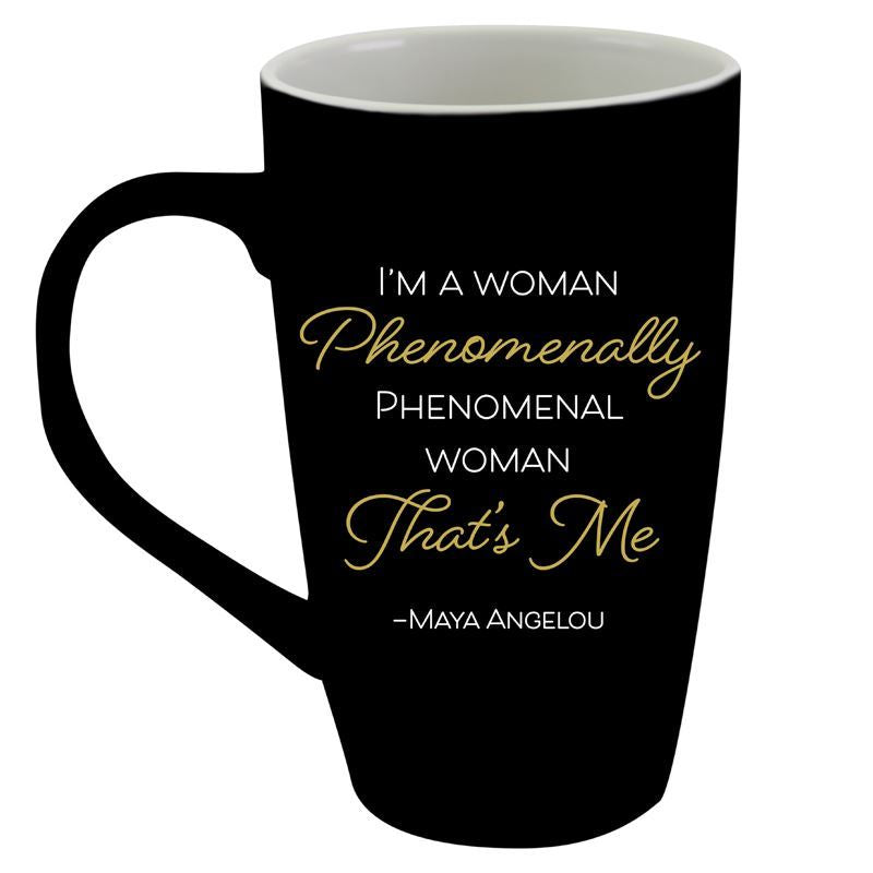 LMUG17 Phenomenal Woman Latte Mug