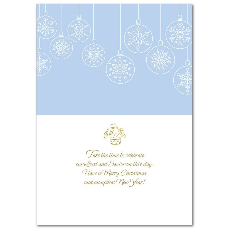 C956 Jazz Ensemble Christmas Card