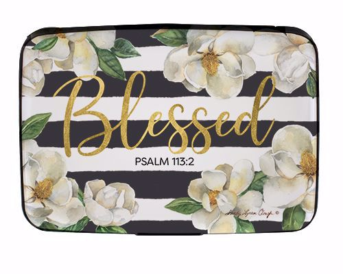 CHC10 Blessed Magnolia Card Holder