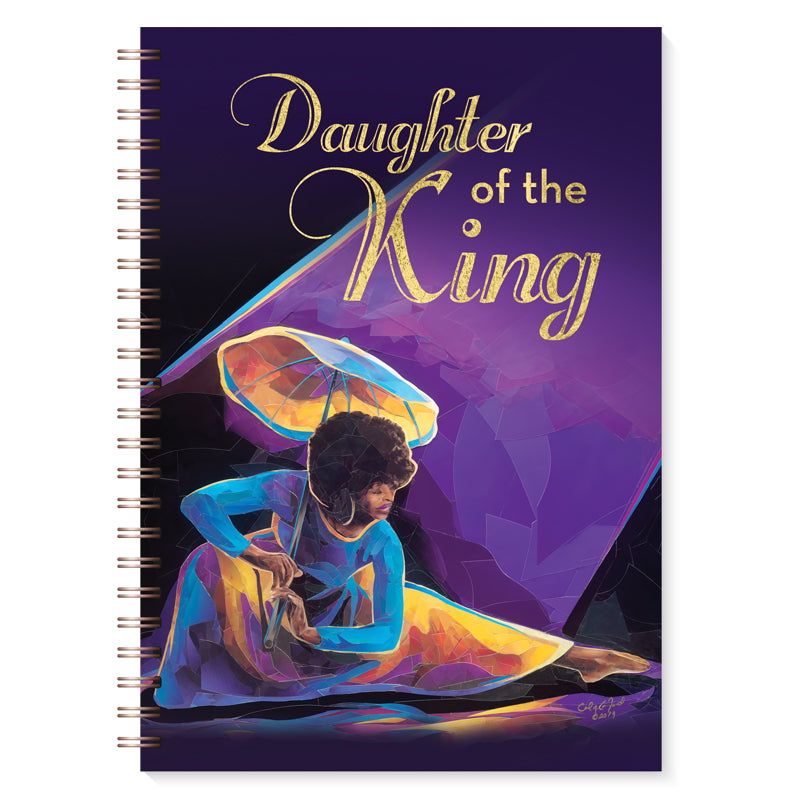 J219 Daughter of the King Gold Foil Journal