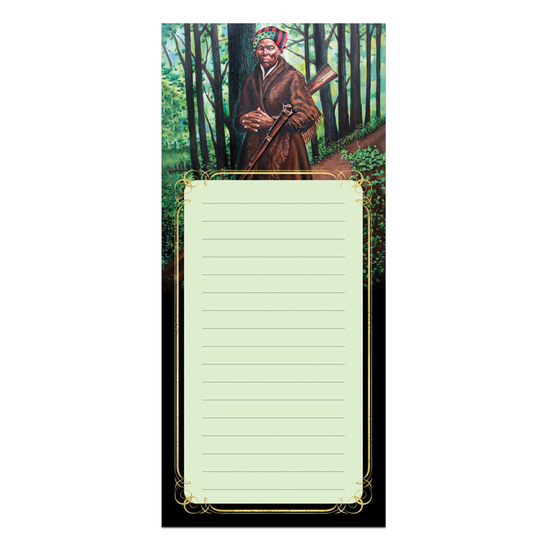 MNP131 Harriet Tubman Magnetic Notepad