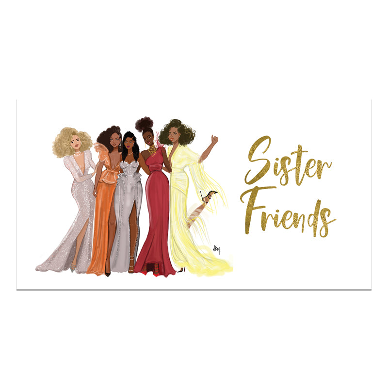 P413 2021-2022 Sister Friends Checkbook Planner