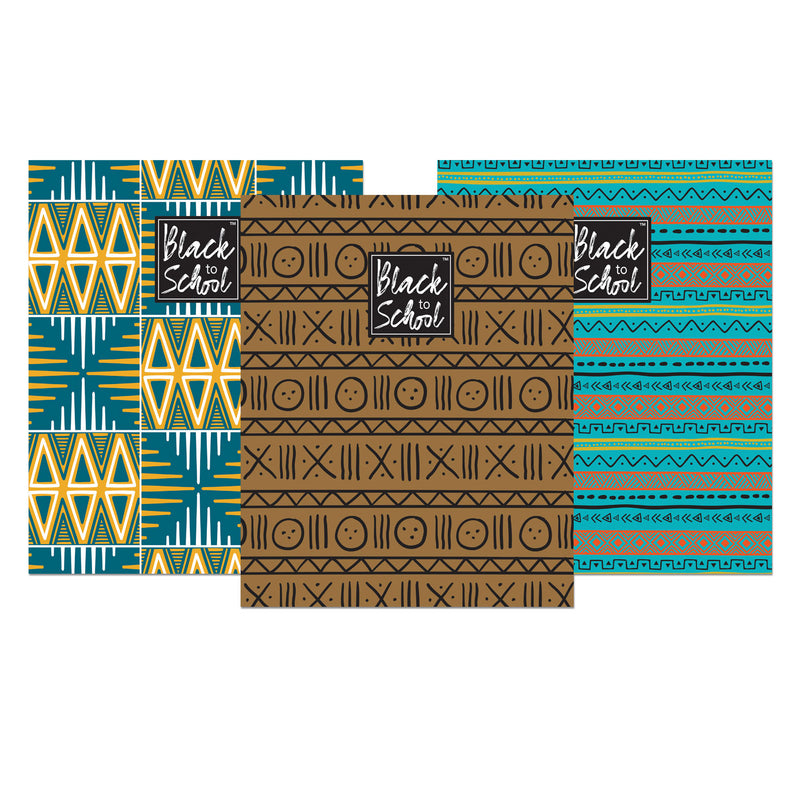 PF03 Patterns Pocket Folder Set of 3