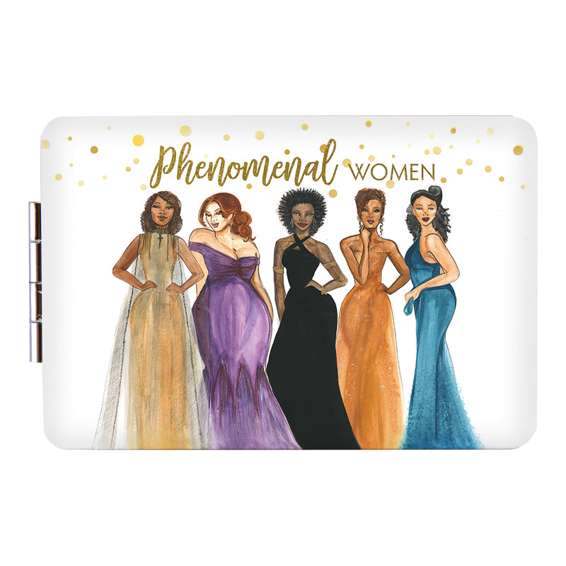 PM07 Phenomenal Women Compact Mirror