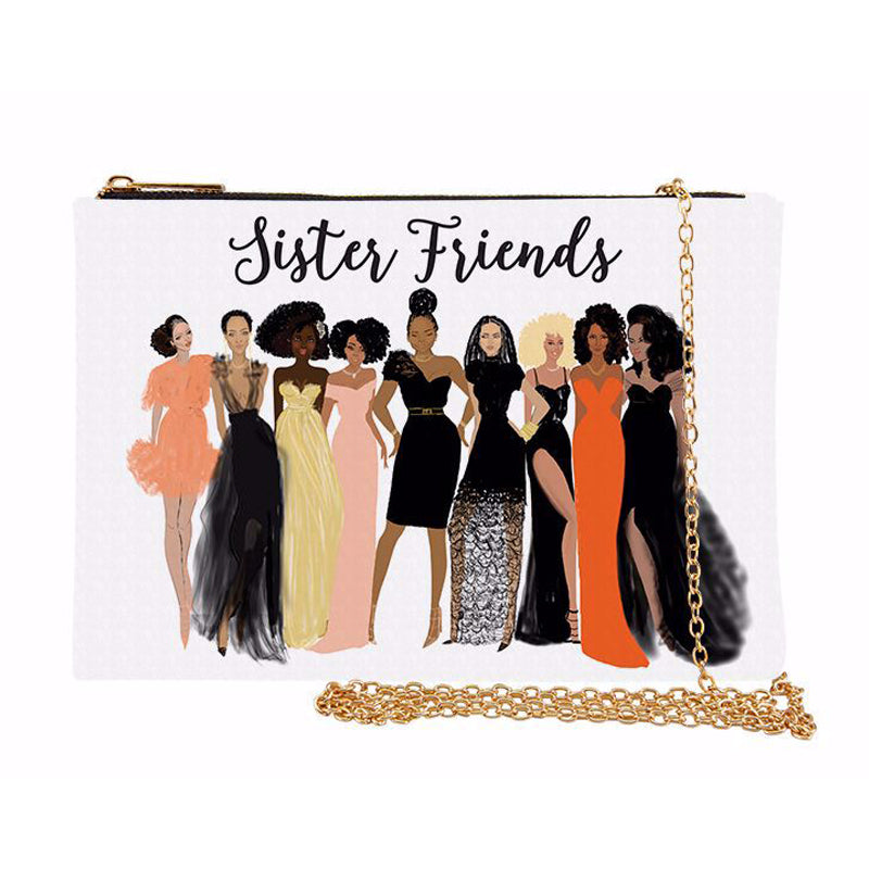 SP02 Sister Friends Chain Purse