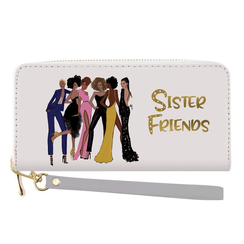 WL14 Sister Friends (Version 2) Wallet
