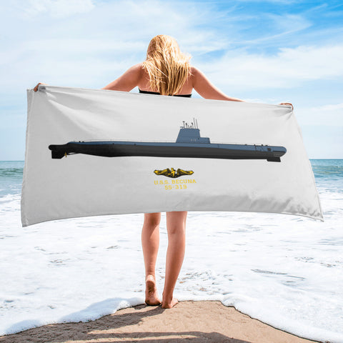 Submarine BECUNA Towel