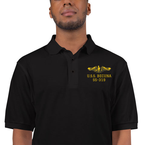 Submarine BECUNA Embroidered Premium Polo