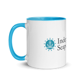 Seaport Mug with Color Inside