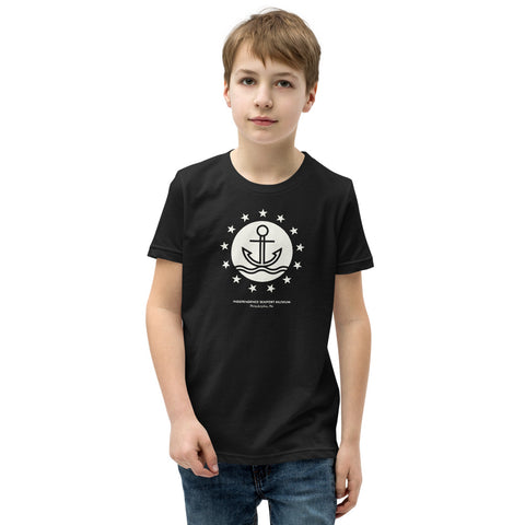 Classic ISM Stars & Anchors Youth Short Sleeve T-Shirt