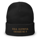 Cruiser OLYMPIA Embroidered Knit Cap