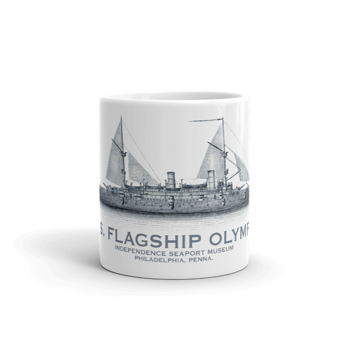 Cruiser OLYMPIA Sail Plan Ceramic Mug