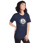 Classic ISM Stars & Anchor Short-Sleeve Unisex T-Shirt