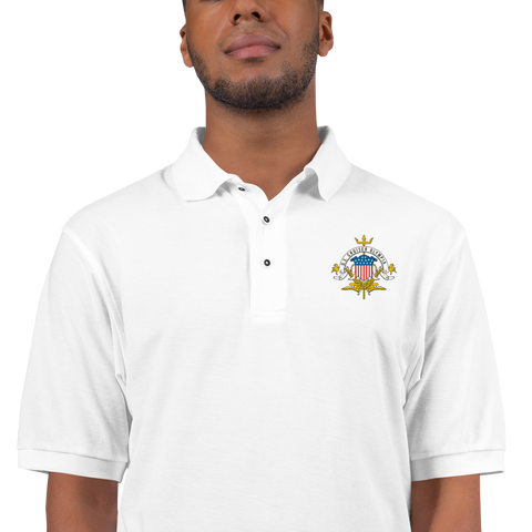 Cruiser OLYMPIA Letterhead Embroidered Premium Polo