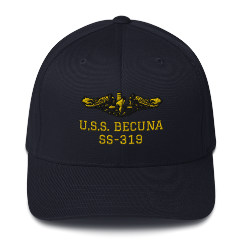 Submarine BECUNA Embroidered Flexband Baseball Cap