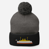 Cruiser OLYMPIA Icon Embroidered Pom-Pom Beanie