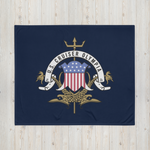 Cruiser OLYMPIA Letterhead Throw Blanket